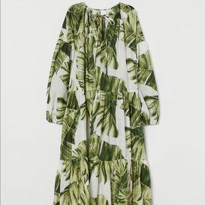 Tropical cotton dress